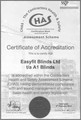 CHAS-Certificate